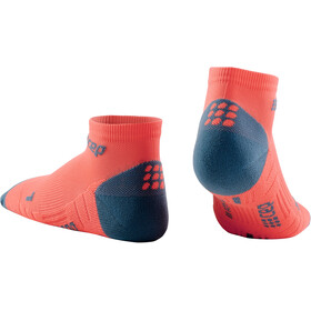 cep Low Cut Socks 3.0 Hombre, coral/grey